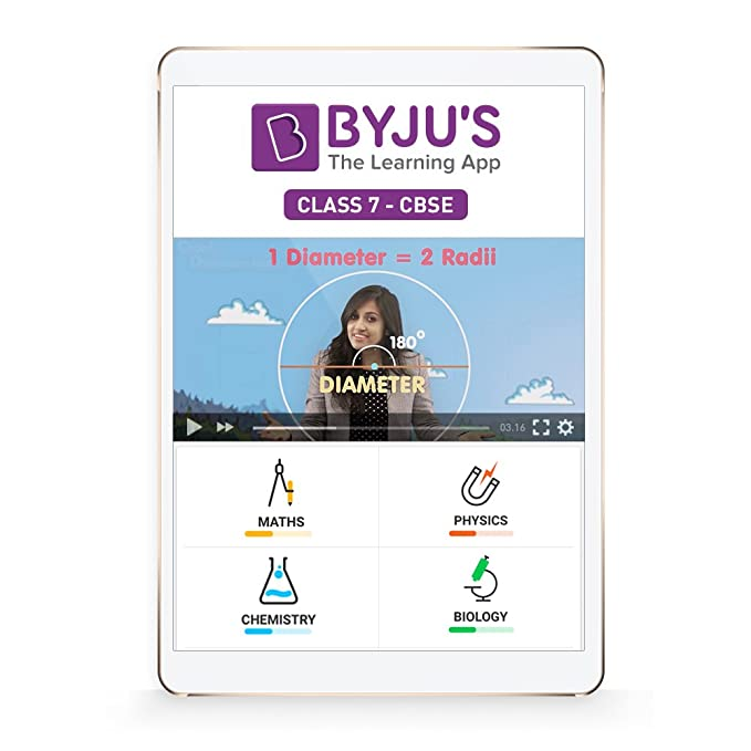Byju S Class 7 Cbse Preparation Tablet Amazon In Software