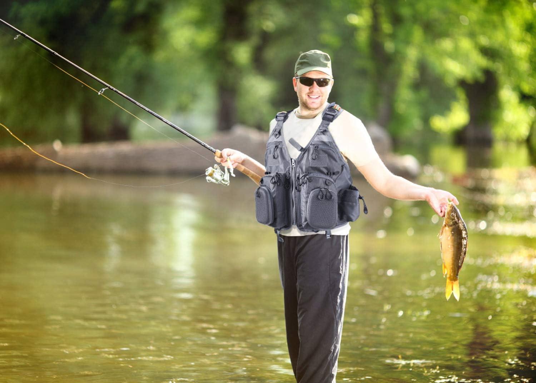 Transpirable Chaleco de Malla para Fotograf/ía de Viaje PELLOR Chaleco de Pesca para Hombre Bolsillos para Exteriores de Secado R/ápido Chaleco de Pesca Caza al Aire Libre