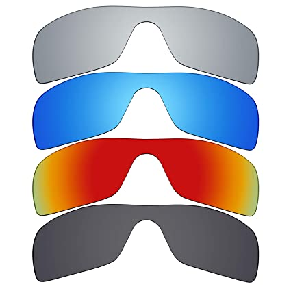 af44286c43549 Image Unavailable. Image not available for. Color  Mryok 4 Pair Polarized  Replacement Lenses for Oakley ...