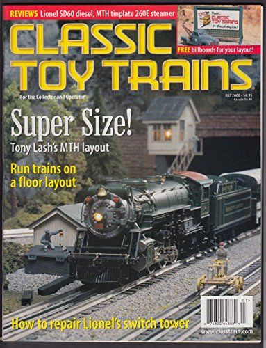 (CLASSIC TOY TRAINS Lionel MTH 4-4-2 Dorfan + 5 2001 )