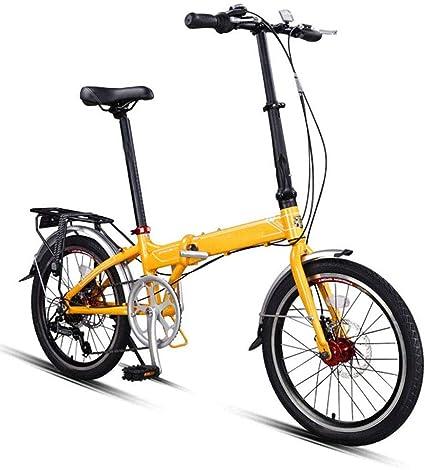 YEDENGPAO Mini Bicicleta, Plegable Bicicletas, Ligero Plegable ...