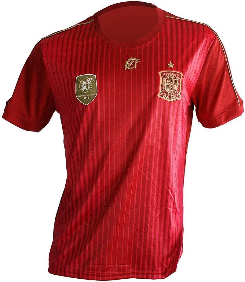Camiseta Selección Española Original - Talla a elegir (S): Amazon ...