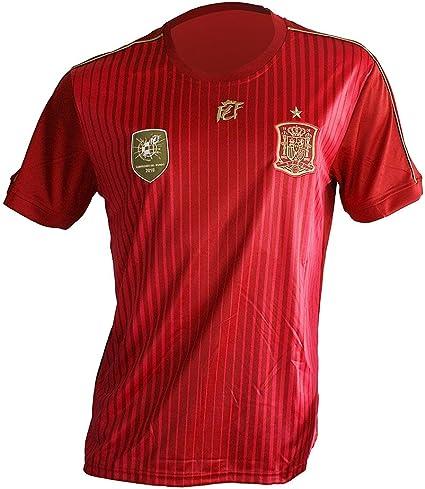 RFEF Camiseta Rep. Selección Española Oficial Talla a elegir (M): Amazon.es: Deportes y aire libre