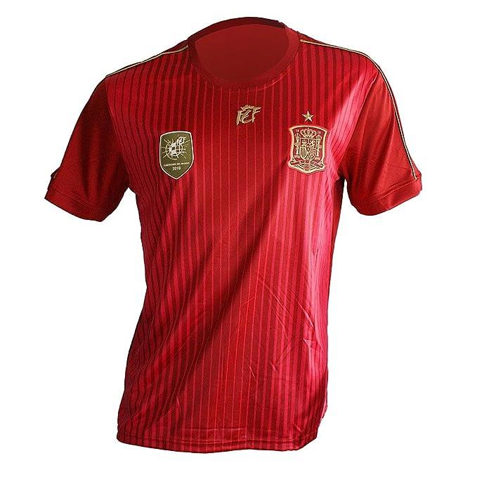 Camiseta Selección Española Original (L): Amazon.es: Deportes y ...