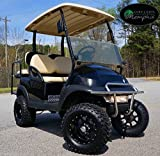 Club Car Precedent Golf Cart 6'' Lift Kit + 12'' Wheels and 23'' All Terrain Tires (4)