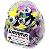Gamma Sports String Things Vibration Dampeners(Jar of 60/Assorted)