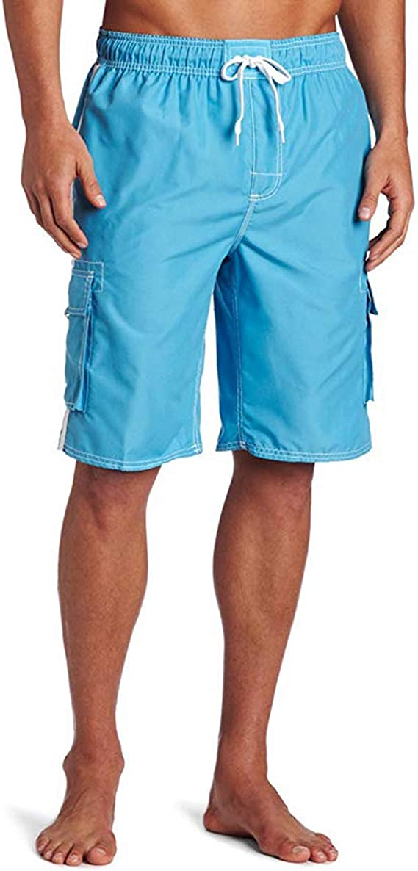 Kanu Surf Men's Barracuda Swim Trunks (Regular & Extended Sizes)   Amazon