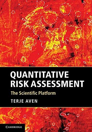 Quantitative Risk Assessment: The Scientific Platform (Risk Quantitative)