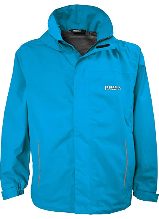Regenbekleidung Pro-x Elements Kinder Regenjacke Freddy 9920 Methyl Blue Angelsport