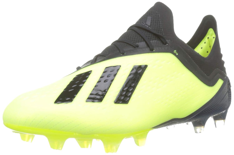 Jaune (Amasol Negbás Ftwbla 001) 43 1 3 EU adidas X 18.1 FG, Chaussures de Football Homme