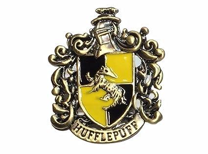 Amazon Harry Potter Hufflepuff Crest Metalenamel Pin