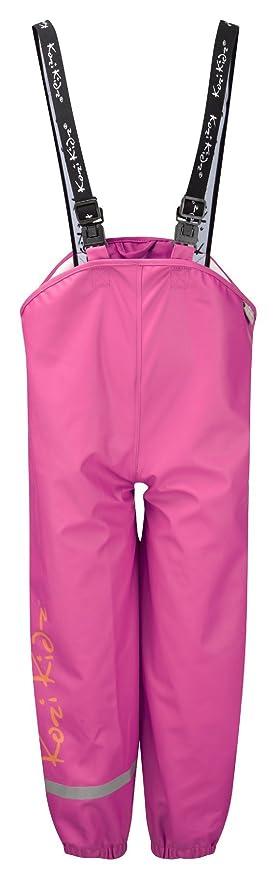 Pantalones de Lluvia para ni/ña Kozi Kidz Regenhose Koster Trousers Cerise