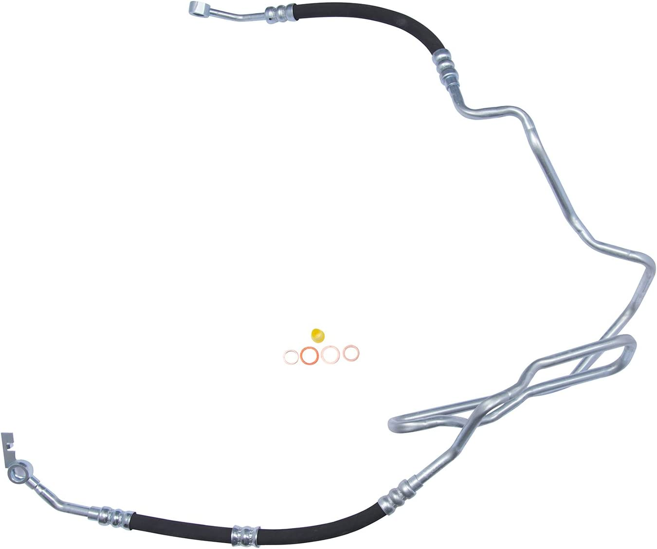 Power Steering Pressure Line Hose Assembly-Pressure Line Assembly Edelmann 91983