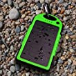 Solar Charger, Powercam, 5000 mAh, Waterproof, Drop Resistant, Shockproof, for iPhones, iPads, Android, Samsung phones, GPS devices and Cameras