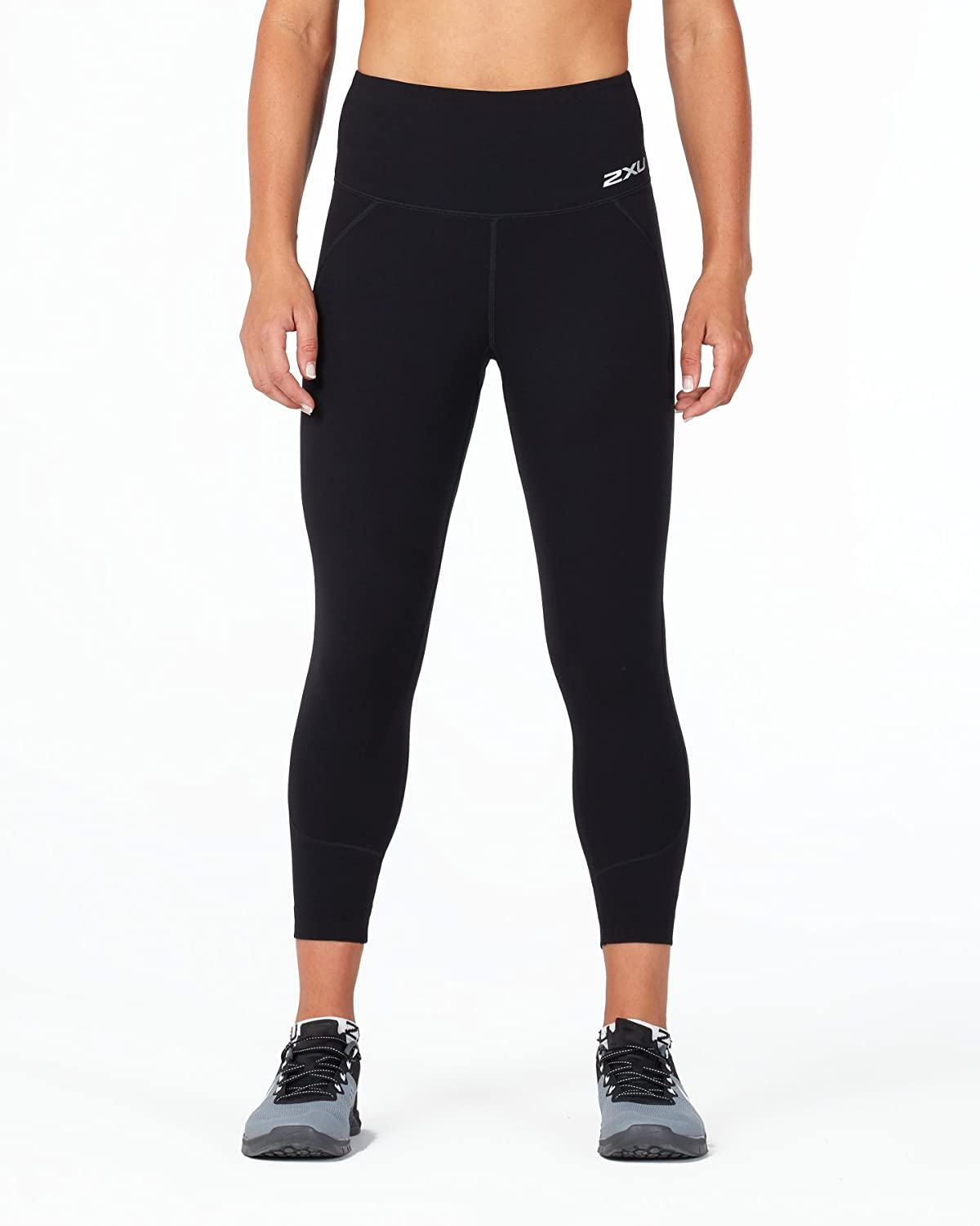 88a9d2763a83c4 Amazon.com: 2XU Women's Fitness Hi-Rise 7/8 Compression Tights: Sports &  Outdoors