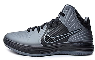 sports shoes 5cce7 b49a6 Nike Lunar HYPERGAMER Basketball Shoes 469756-007 Cool Grey   Black (8