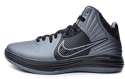sports shoes 7e110 b64ad Nike Lunar HYPERGAMER Basketball Shoes 469756-007 Cool Grey   Black (8