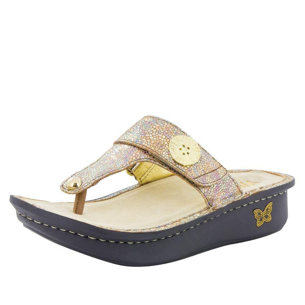 Alegria Women's Carina Wedge Sandal B075J13K2F 36 M EU|Sand Do's