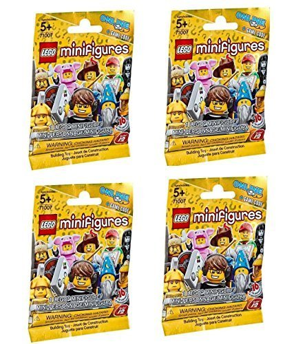 LEGO Series 12 Minifigures - Random Pack of 4