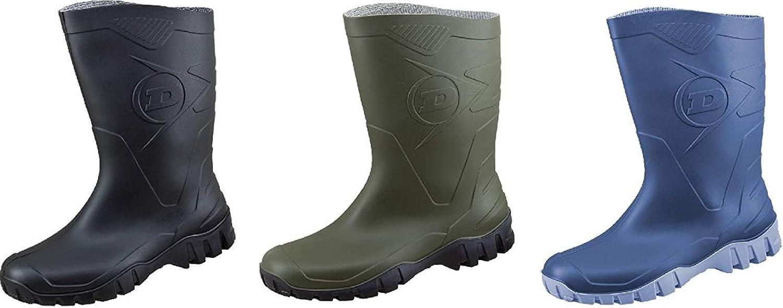 Dunlop Protective Footwear Unisex-Erwachsene Dee Gummistiefel inkluisve Hochwertigen Schmutzbeutel aus 100/% Baumwolle