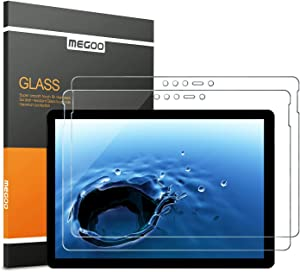 [2 Pack] MEGOO Surface Go Screen Protector [Tempered Glass] [Lifttime Warranty] [Easy Installation] [Bubble Free] [Anti-Scratch], Screen Protector for Microsoft Surface Go (10 Inch, 2018)