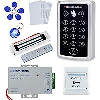OBO HANDS Kit Completo Completo para Sistema de Control de Acceso a la puerta Lector de Tarjeta T11 + Cerradura…