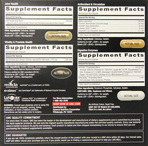 Gnc Mega Men Whole Body Vitapak Supplement 30 Count Buy