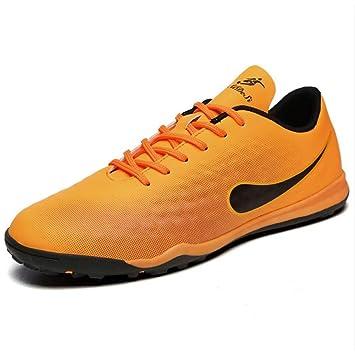 Zapatos de fútbol de amantes / Botines de fútbol de cuero de confort / Botas de
