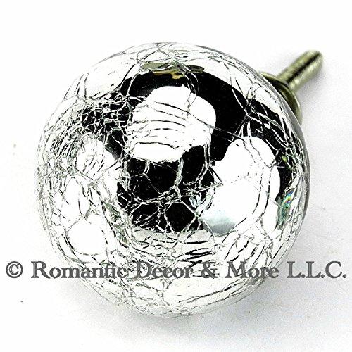mercury glass cabinet handles - 6