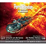 Perry Rhodan NEO MP3 Doppel-CD Folgen 137 + 138: Schlacht um die Sonne / Die Weißen Welten