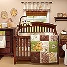 Lion King Go Wild 5 Piece Baby Crib Bedding Set with Bumper by Disney Baby