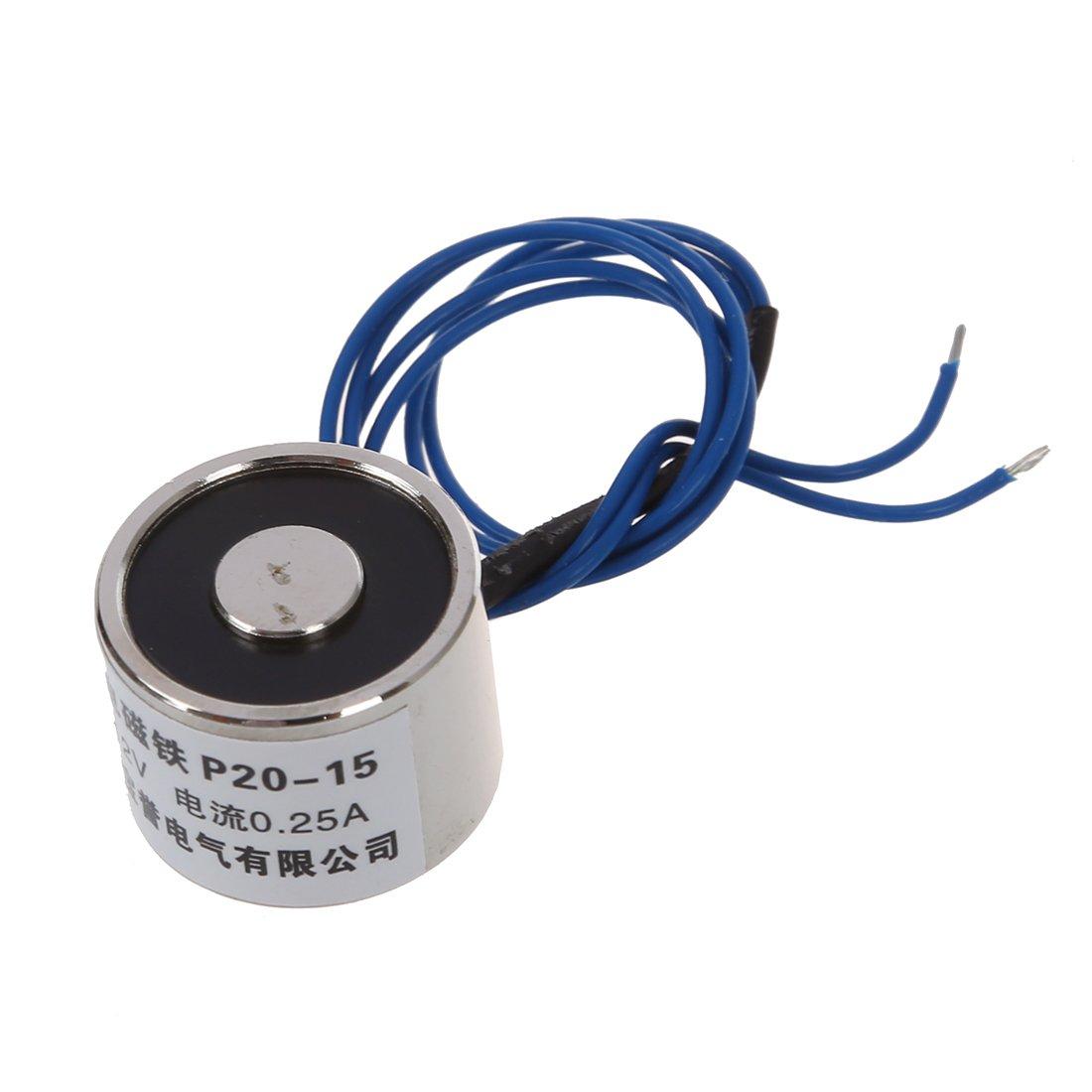 SODIAL (R)5.6lbs DC 12V Holding Electromagnet Lift Solenoid SODIAL(R)