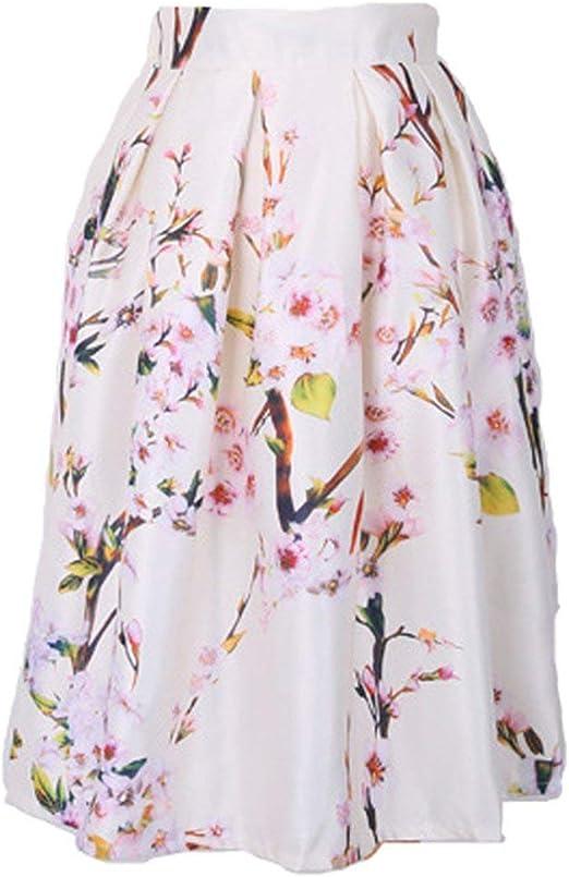 Faldas para Mujer Casual Moda De De Verano Único Falda Verano ...