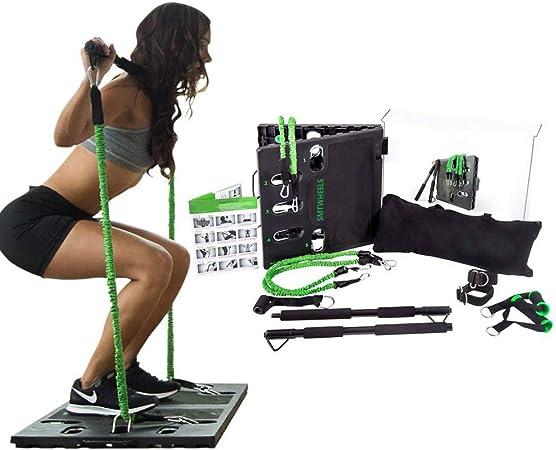 Equipo de gimnasio portátil para el hogar Paquete de ...