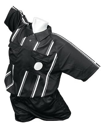 Kwik Goal Premier - Camiseta para árbitro, Unisex Adulto Hombre, Color Negro, tamaño