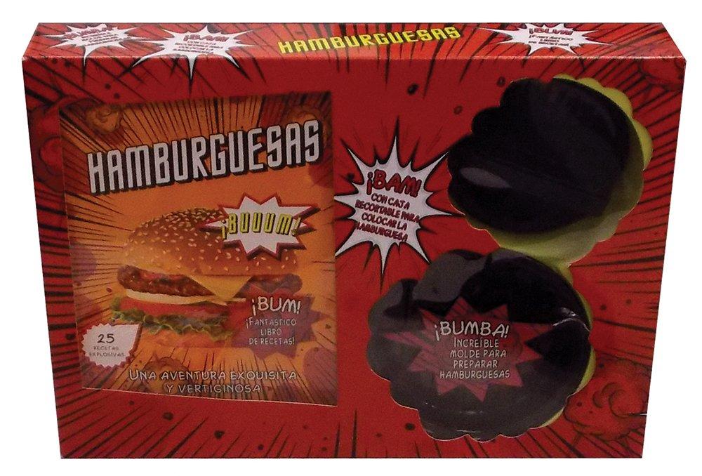 Hamburguesas con caja recortable para colocar la Hamburguesa (Spanish Edition) (Spanish) Paperback – February 7, 2014