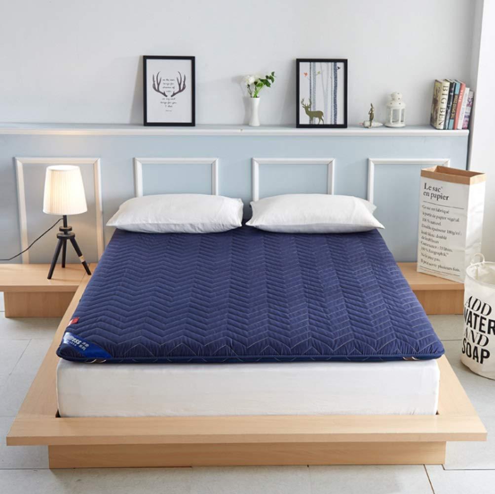ホームテキスタイル製品学生寮マットレスシングルベッドマットレスマットレスベッドマットレス。 (Color : ブルー, サイズ : 180*200CM) B07MQJ47HK ブルー 180*200CM