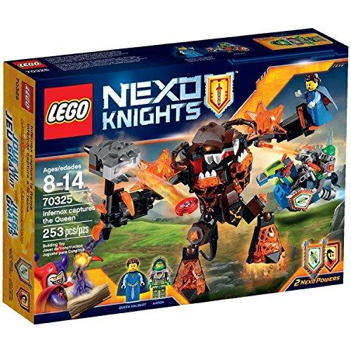 LEGO Nexo Knights - 70325 Infernox Captures the Queen Buildi