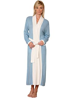 b3ef710c6f Schweitzer Linen Caress Cashmere Robe at Amazon Women s Clothing store