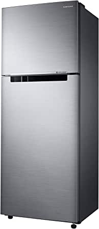 Samsung 500 Liters Top Mount Refrigerator, Twin Cooling Plus, Tempered glass shelves, Silver - RT50K5030S8, 1 Year Manufacturer Warranty