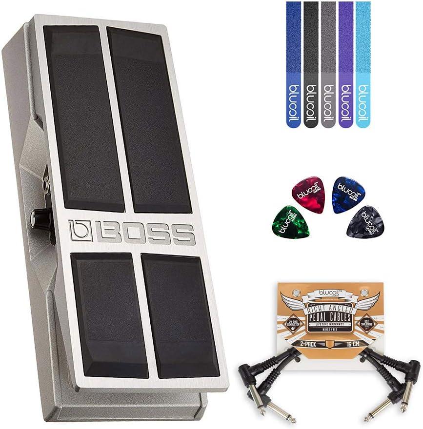 BOSS FV-500L Pedal de volumen estéreo, paquete de baja ...