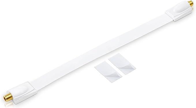 Conecto Premium Fensterdurchführung Für Sat Kabel Elektronik