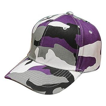 04d68d0ab1c Seamount Fashion Camouflage Baseball Cap - Unsex Outdoor Plain Trucker Cap