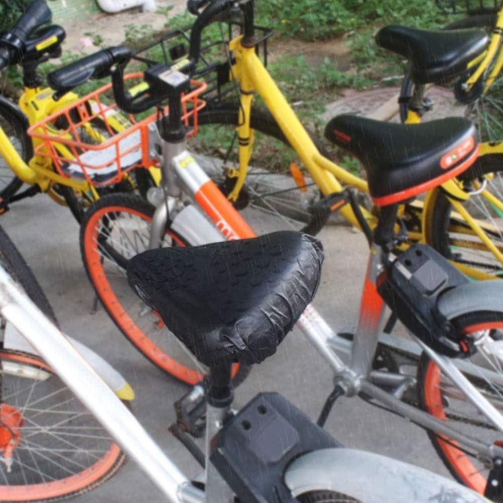 Jourbon Wasserdichter Fahrradsattelabdeckung Sattelbezug,elastische Nahtloser Fahrradsitz Regenbezug Fahrradsitzbezug