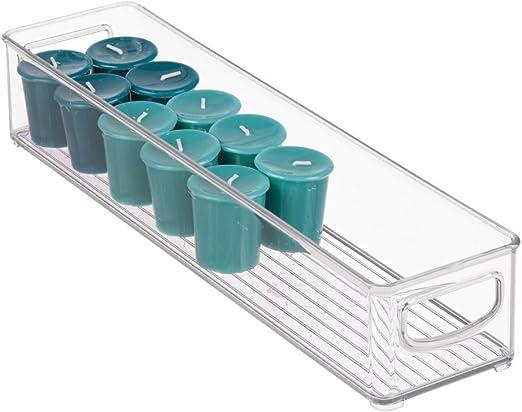 iDesign Cabinet/Kitchen Binz Caja organizadora, pequeño ...