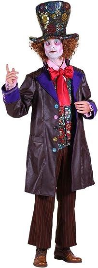 Thetru Disfraz de Sombrerero Loco de Lujo – Pequeño Pecho de 38 ...