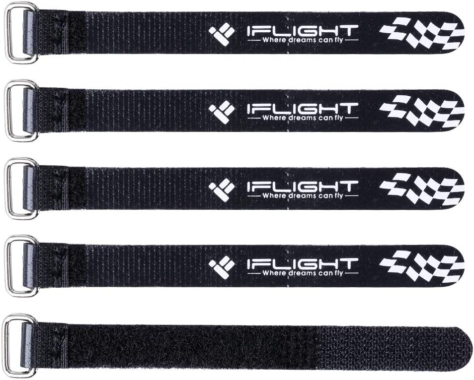 iFlight 10pcs Battery Straps 15 x 150mm Reinforced/Lipo Straps for 2-4S RC Battery Toothpick Frame 80-120mm Frame
