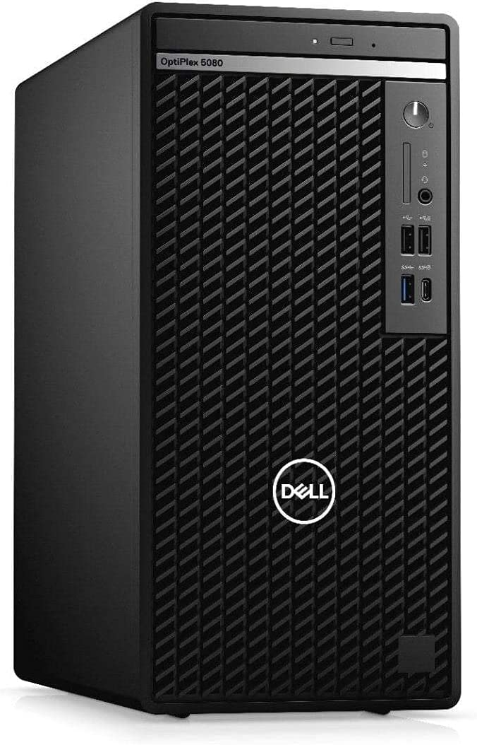 Dell OptiPlex 5080 Desktop SFF - Intel Core i7 10th Gen - i7-10700 - Eight Core 4.8Ghz - 256GB SSD - 16GB RAM - Windows 10 Pro