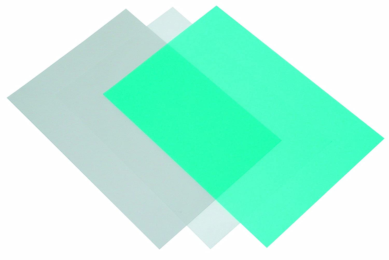 Fellowes 53506 Deckbl/ätter Fantaisie Polypropylen 500 Mikron transparent//liniert