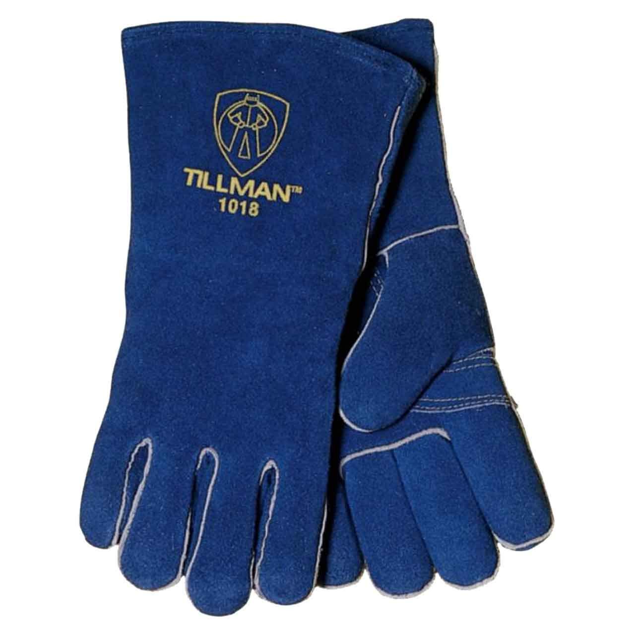 Tillman 1018 Slightly Shoulder Select Cowhide Welding Gloves Medium